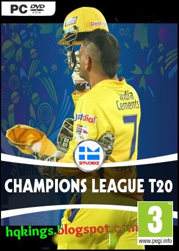 CHAMPIONS LEAGUE T20 2013 PATCH