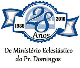 28 ANOS DE MINISTÉRIO PASTORAL