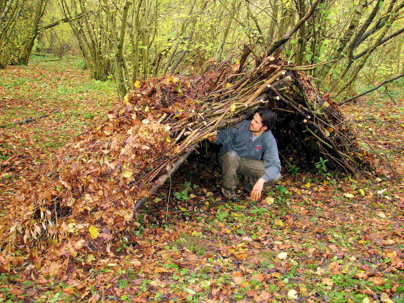 Man Made Shelters : Warrior chic