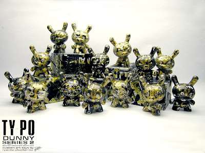 San Diego Comic-Con 2011 Exclusive Ty_po Dunny Series 2 by Ryan the Wheebarrow