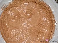 Frosting de chocolate hecho