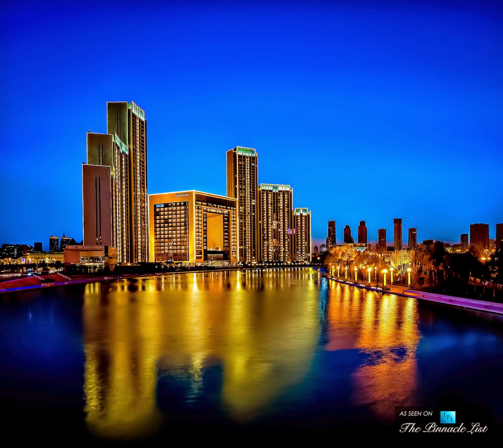 Luxury Life Design St Regis Hotel In Tianjin