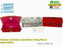 Dompet List Emas Lapis Dalam Furing Warna