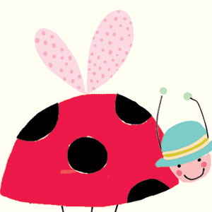 ladybird children's cards liz and pip ltd