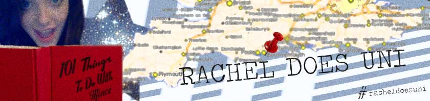 rachel does uni