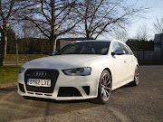 Audi RS4 AvantIrresistible!