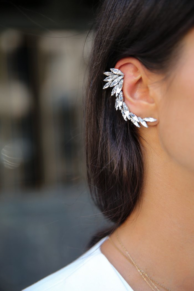 maxi pendiente invitada boda look guest wedding earing XXL