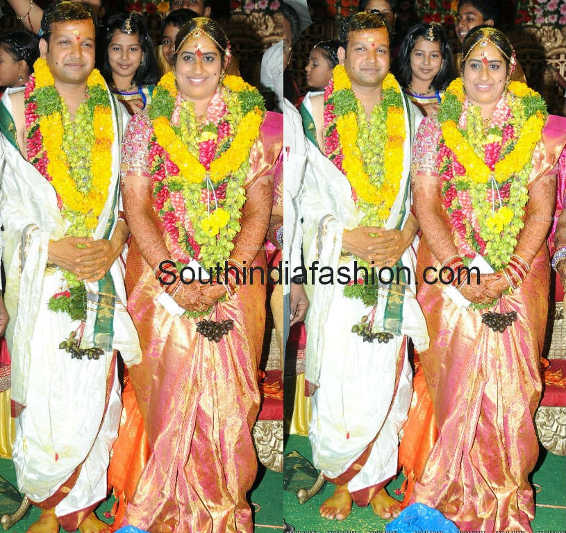 kavitha daughter sravanthi wedding