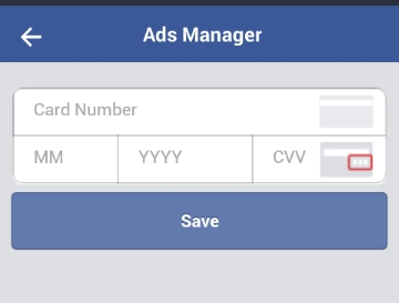 run Facebook ads with Nigeria ATM card