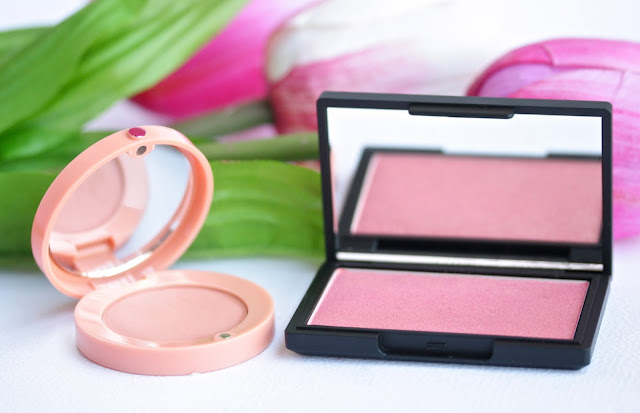 Bourjois and Sleek blushes