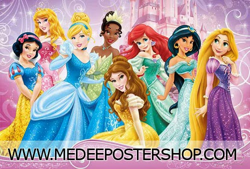 Disney Princess 2014 Poster