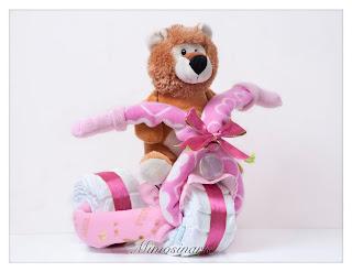 triciclo de pañales