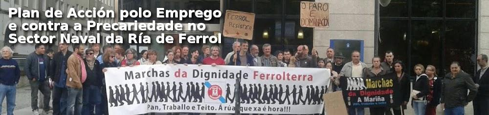 Plan de Acción polo Emprego e contra a Precariedade no Sector Naval da Ría de Ferrol