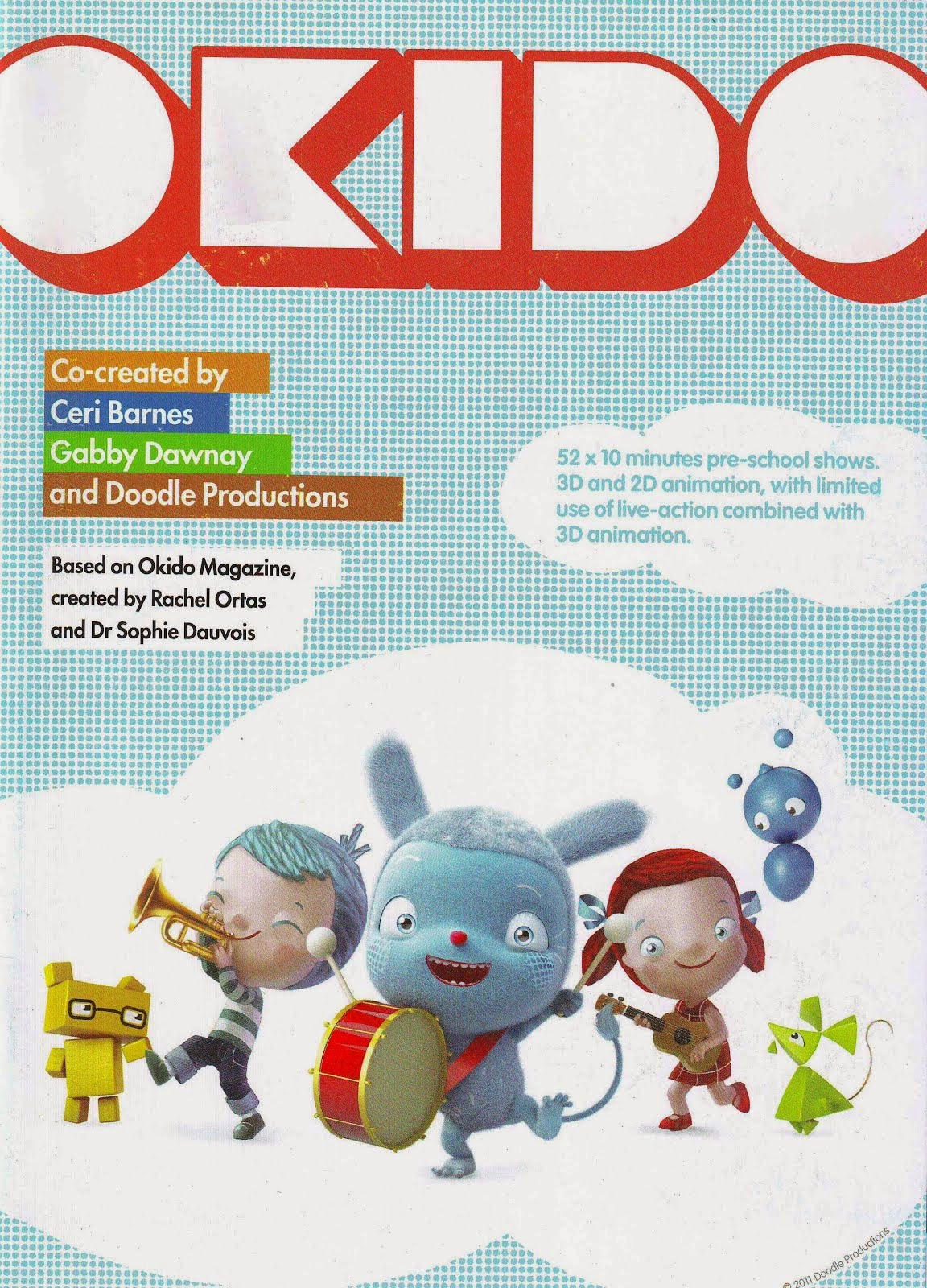 Cartoon Forum 2011 Okido booklet