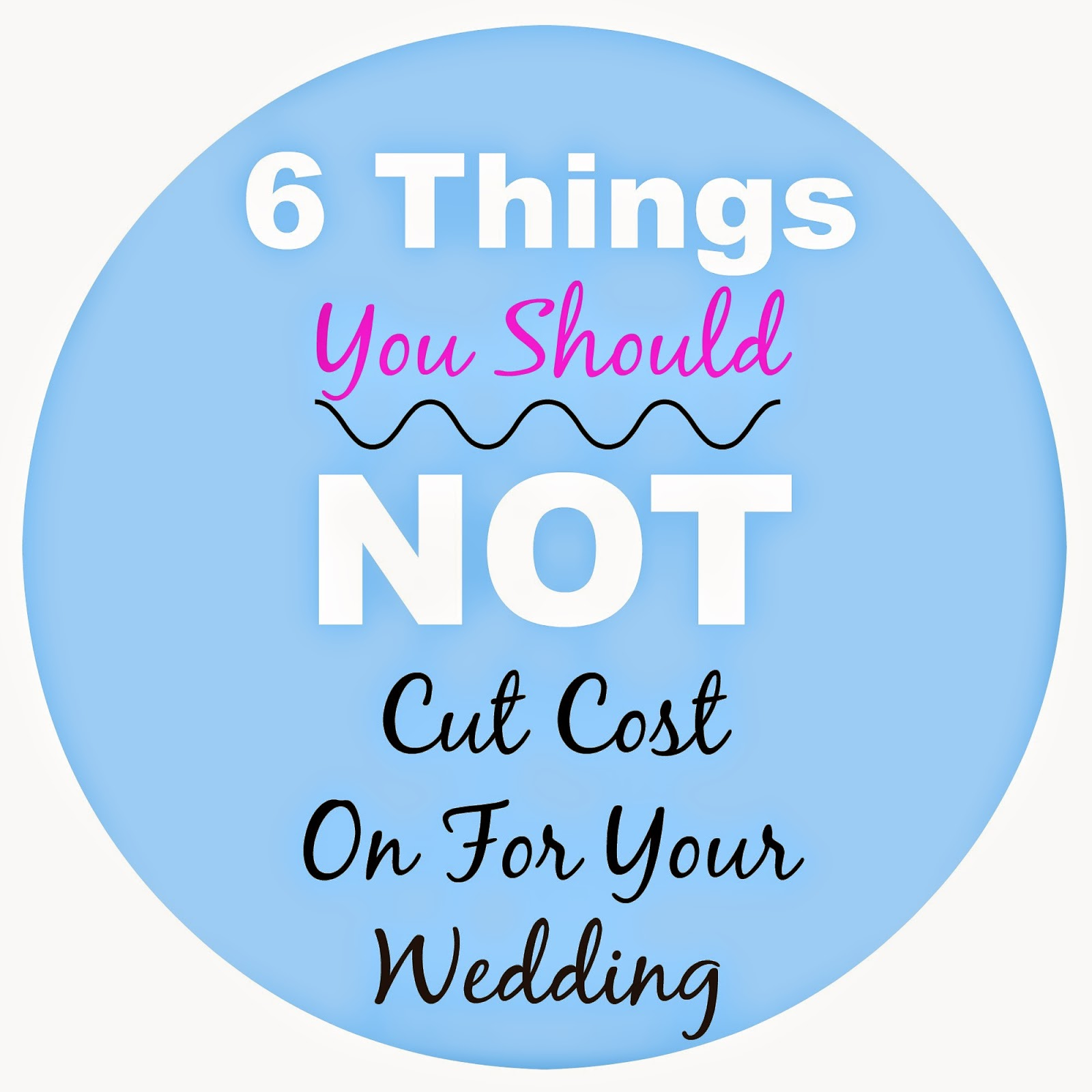 6 Areas You Should Not Be Cheap In When Planning Your Wedding