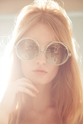 60's sunglasses, model with beehive hair, top new york beauty photographers