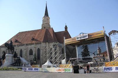 főtér, Kolozsvár, kulturális örökség, kultúra, műemlékek, Szent Mihály templom,