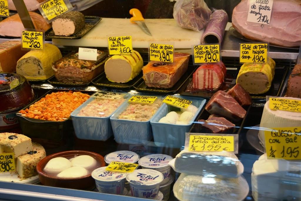 Mercado Central de Atarazanas Malaga pate