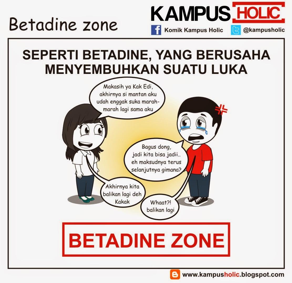 #833 Betadine zone