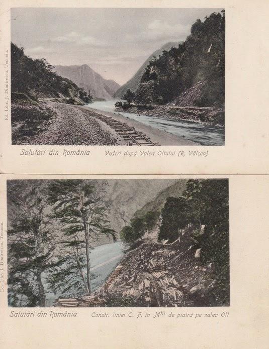 Valea Oltului in defileu