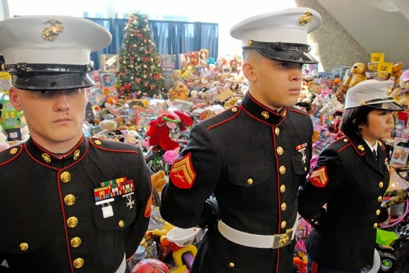Toys For Tots History : Millennium media entertainment united states marine corps
