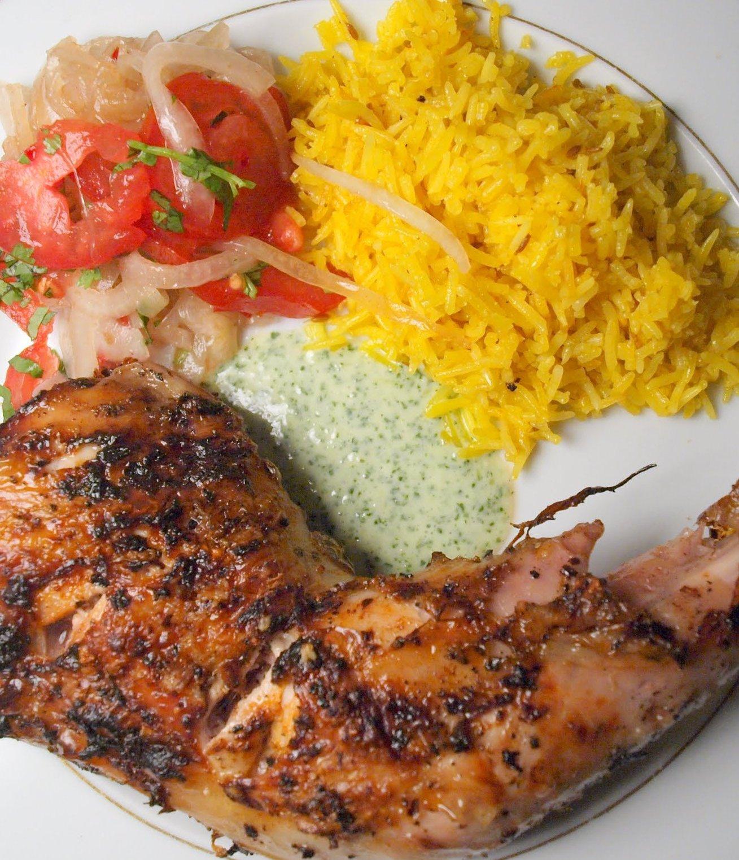 La casserole poulet grill aux pices tandoori - Cuisse de poulet grille au four ...