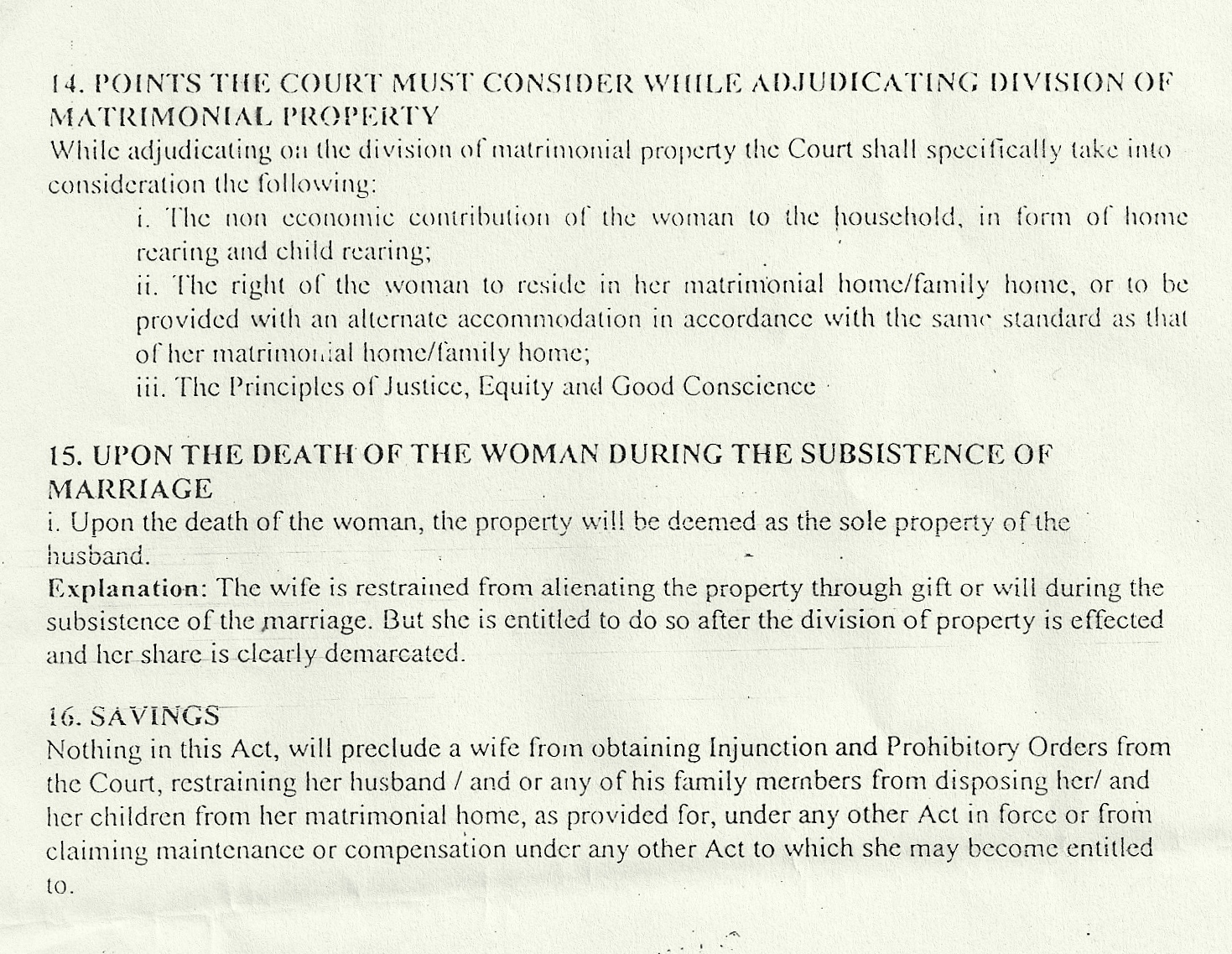 matrimonial property bill 2012 The matrimonial property bill, 2012 a bill for an act of parliament to provide for the rights and responsibilities of spouses in relation to matrimonial property and for connected purposes enacted by the parliament of kenya as follows— part i – preliminary short title 1 this act may be cited as the matrimonial property act, 2012.