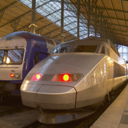 trains en gare (France)