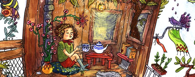 Elin Fahlstedt illustration