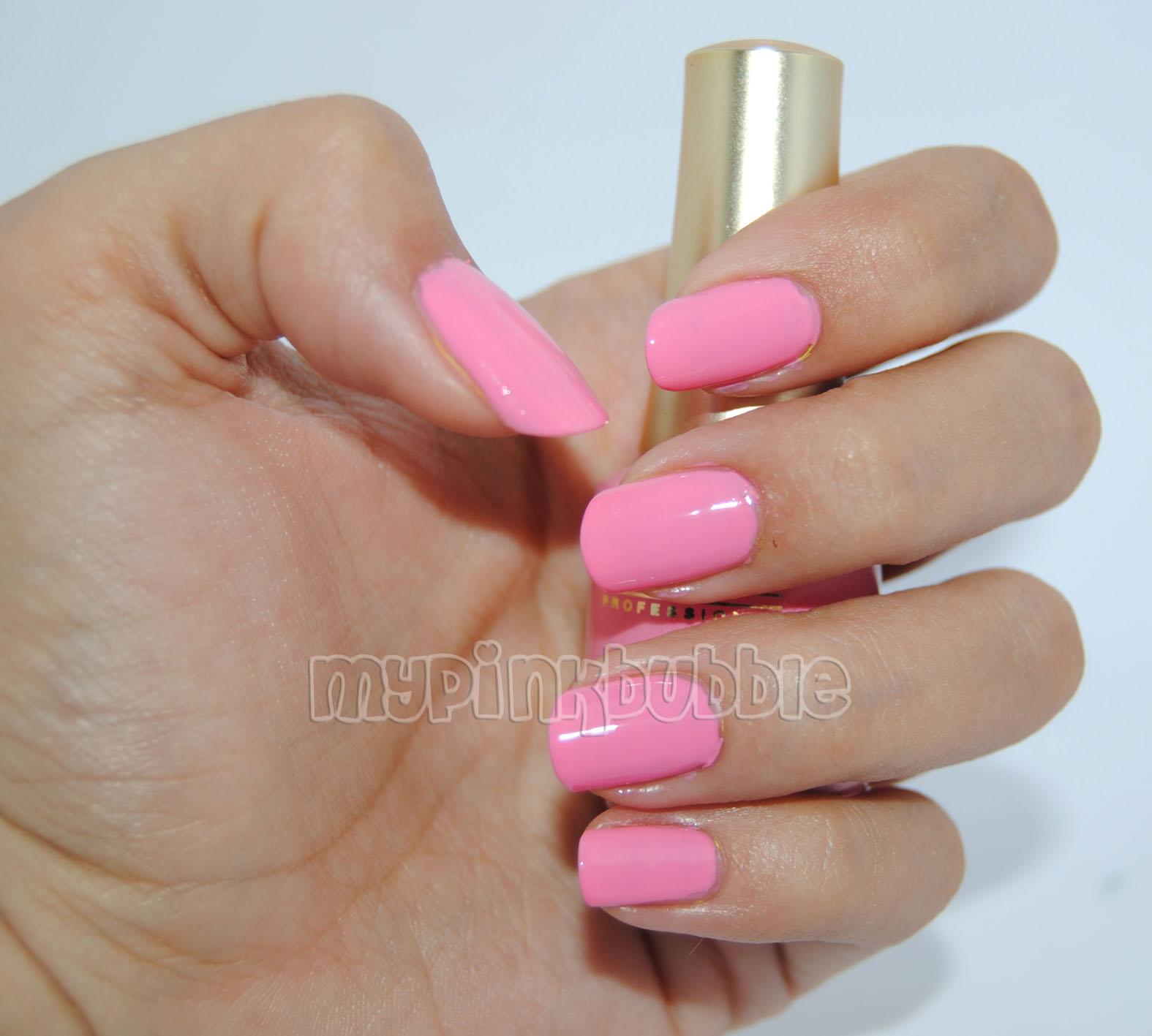 Ten image esmalte 308 Pink Flamingo swatch