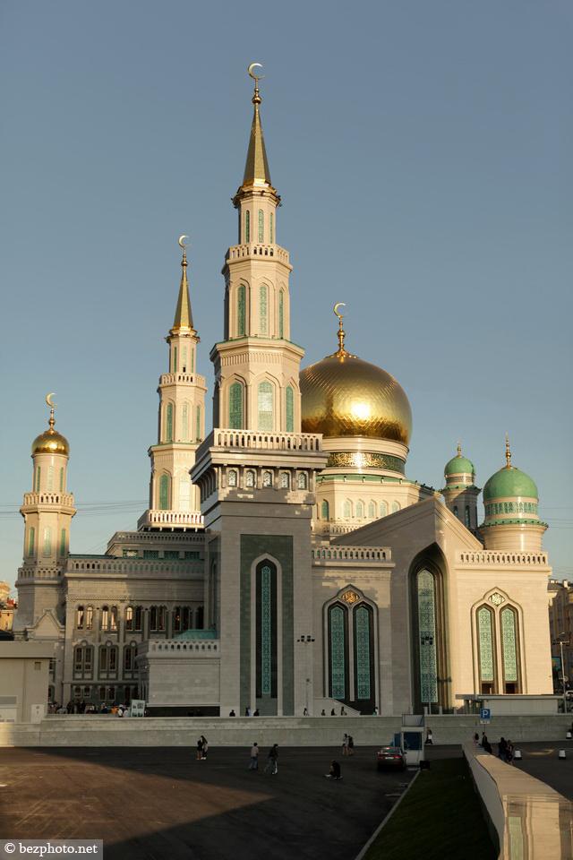 московская соборная мечеть на проспекте мира