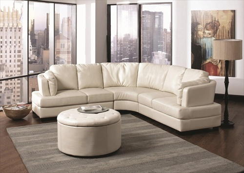 U-shaped Living Rooms With Sofas (4 Image)