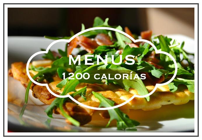 menú semanal 1200 calorías en pdf