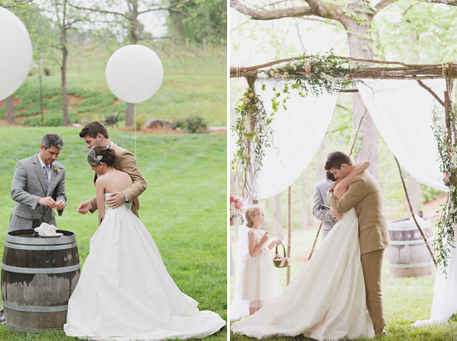 Outdoor Southern Wedding Charm~ Decoracao Casamento Tons Pasteis