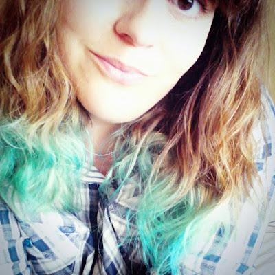 J'ai testé les cheveux bleus