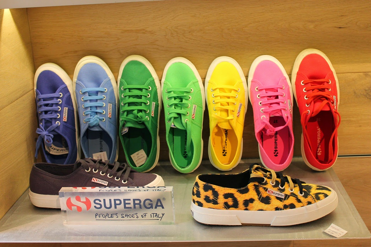 Seraphita, colección Spring Summer 2014, shoes, Superga