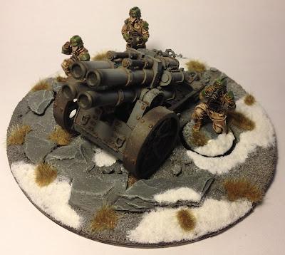 Death Korps of Krieg Thudd Gun