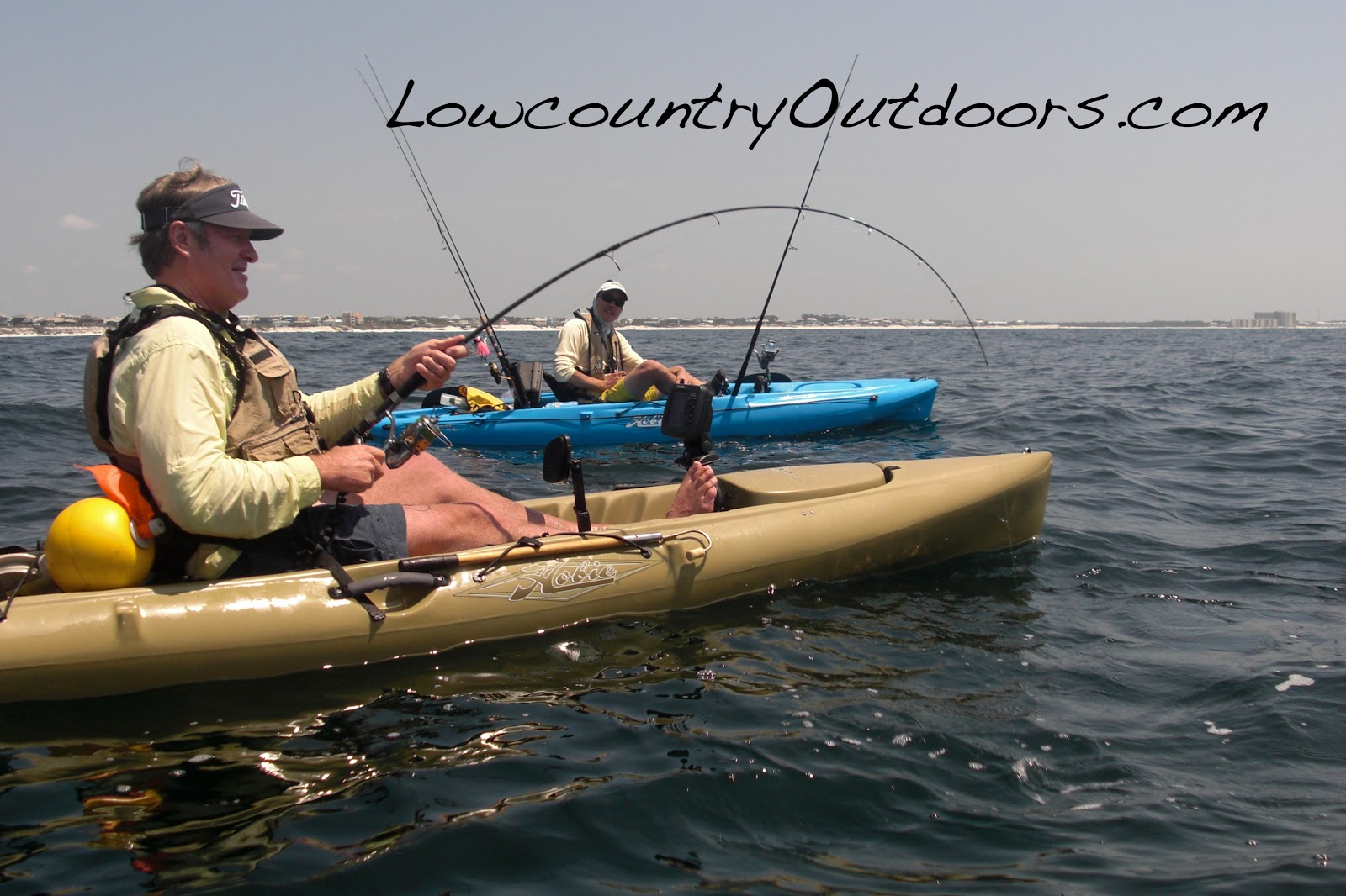 Lowcountry outdoors kayak fishing book shares how to tips for Freshwater kayak fishing