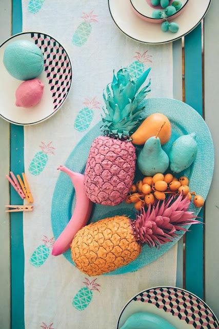 tendencia-decoracao-ananas-toalha-mesa