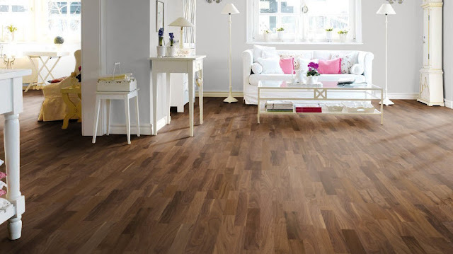 Walnut engineered wood flooring in London - envy Hardwoods