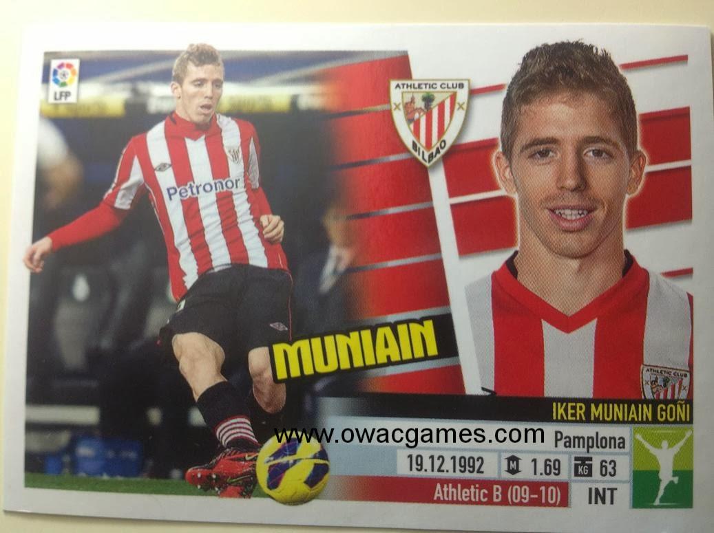 Liga ESTE 2013-14 Ath. Bilbao - 13 - Muniain