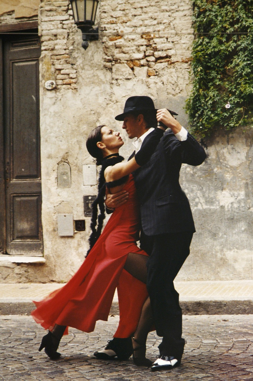 tango, dancing, couple dancing, romance, travel