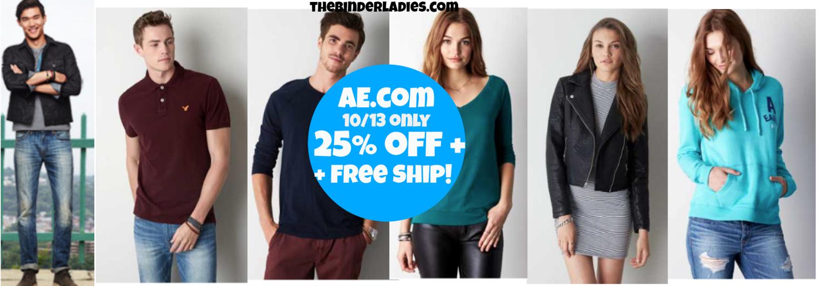 http://www.thebinderladies.com/2014/10/americaneaglecom-free-shipping-25-off.html#.VDv1ZEvdtbw