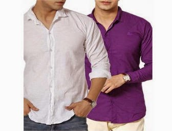 FASHION and YOU: Buy Zion Casual shirt Set of 2 at Rs.649