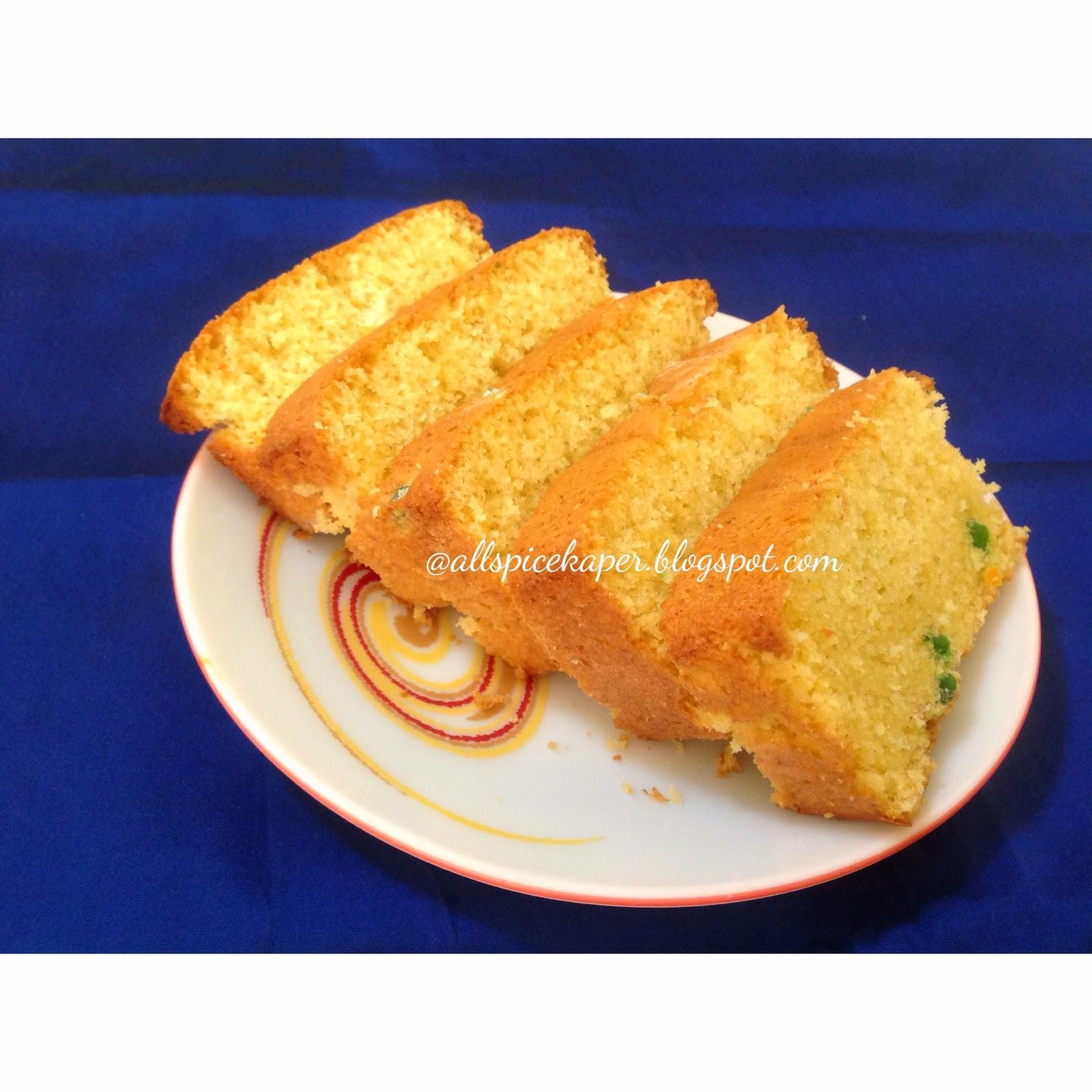 Allspice: Bolo De Fuba-A Brazilian Cornmeal Cake