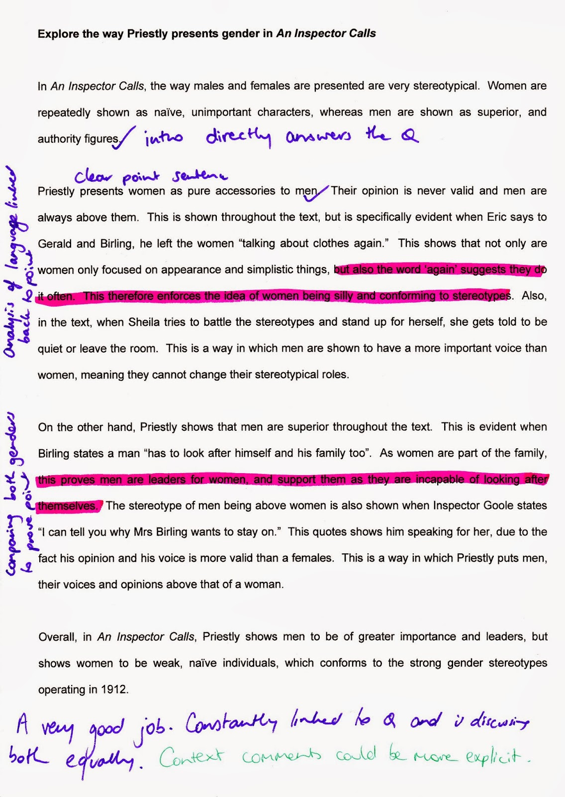 gender roles and expectations essay 20 acute essay prompts on gender roles for university sex and gender roles of men and women as per the societal and cultural expectations gender.
