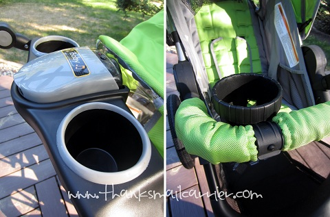 Jeep stroller cup holders