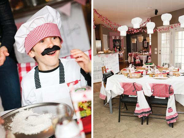 Вечеринка в итальянском стиле для дома или ресторана