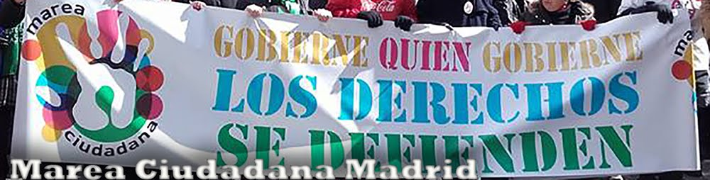 Marea Ciudadana Madrid