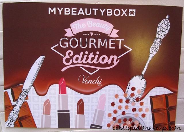 MyBeautyBox Novembre 2015: The Beauty Gourmet Edition